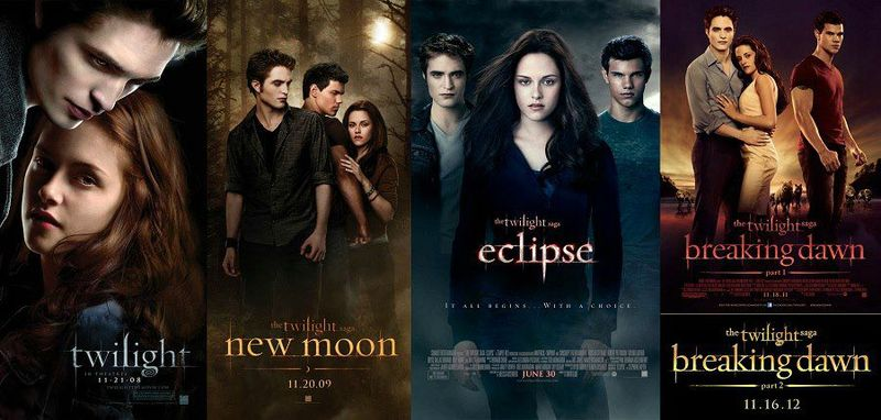 Listen and download Twilight Saga Audiobook series by Stephenie Meyer