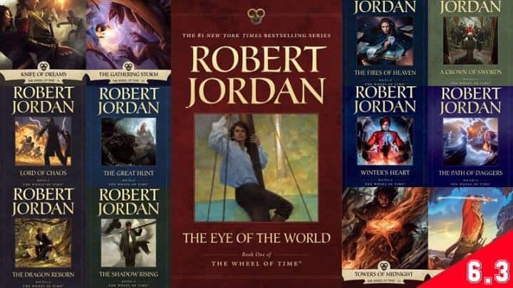 Listen and download The Wheel of Time Audiobook Free by Robert Jordan