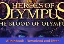 Blood of Olympus Audiobook by Rick Riordan