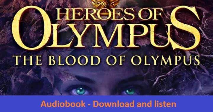 Blood of Olympus Audiobook by Rick Riordan