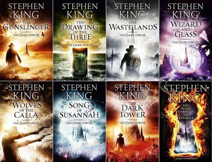 8 Audiobooks The Dark Tower Complete Series by Stephen King
