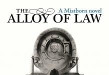 Mistborn The Alloy of Law Audiobook cover