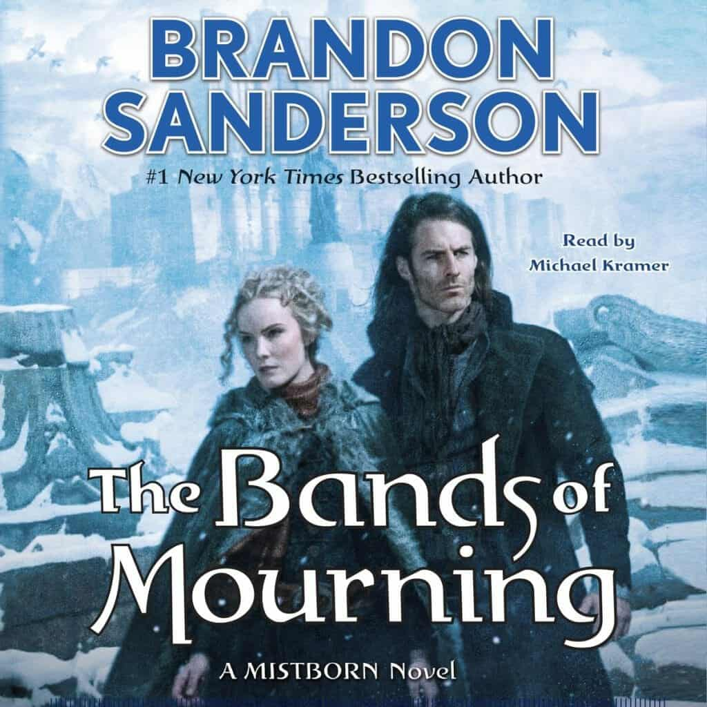 Mistborn The Bands of Mourning Audiobook cover