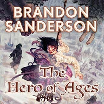 Mistborn The Hero of Ages Audiobook cover