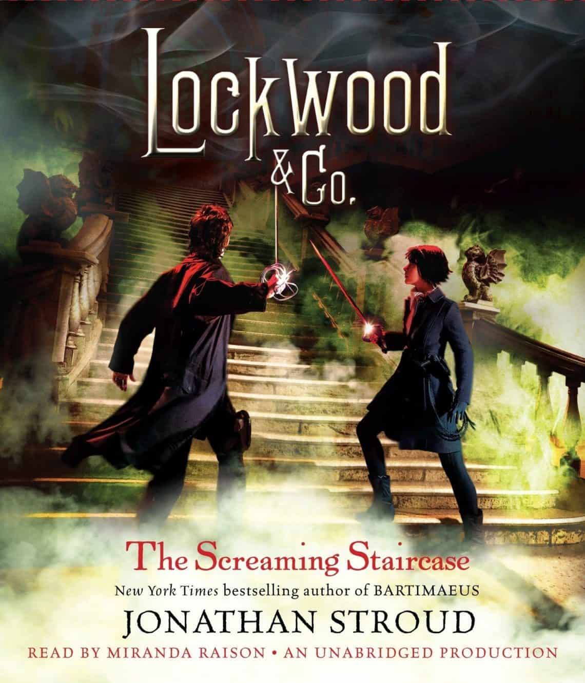 Jonathan Stroud - The Screaming Staircase Audiobook Free Download and Listen