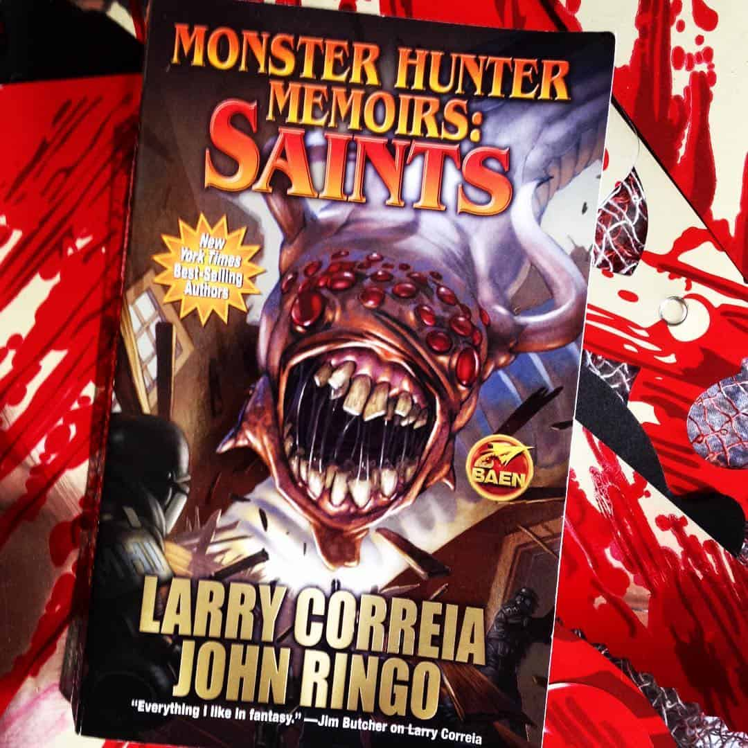 Listen and download Monster Hunter Memoirs - Saints Audiobook by Larry Correia and John Ringo.