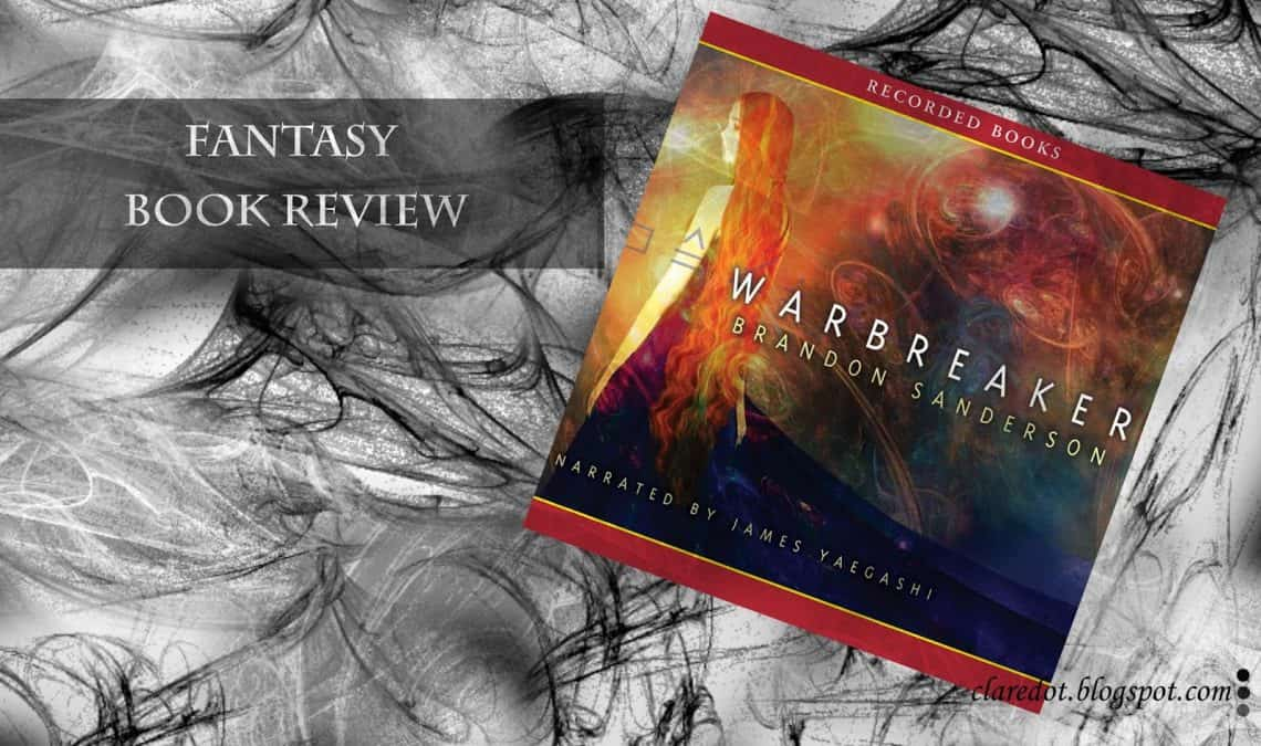 brandon sanderson warbreaker audiobook review