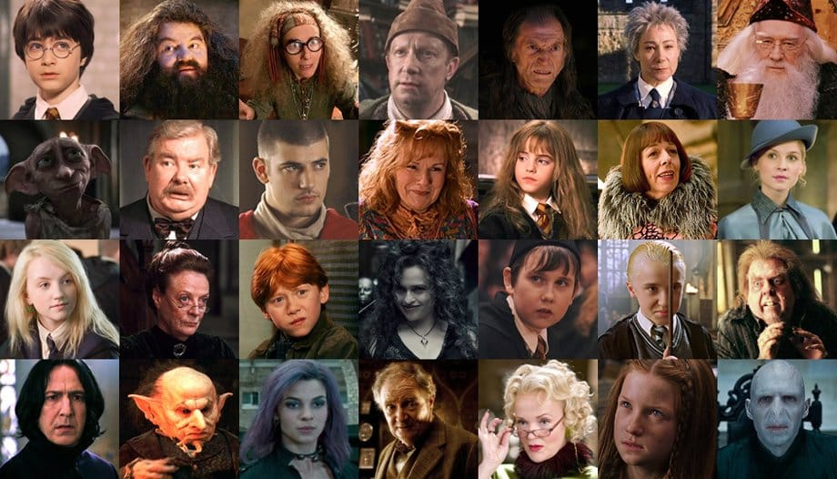 Harry Potter Audiobooks Main Characters
