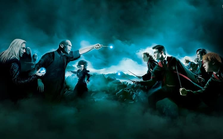 Harry Potter final battle