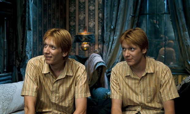 The twins Fred and George