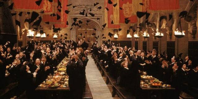 The wizard school Hogwarts