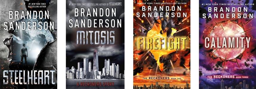The Reckoners Audiobooks Series by Bradon Sanderson
